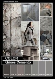 セメント色グレイ